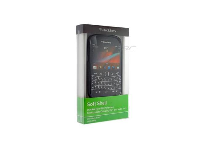 BlackBerry Bold Touch 9900/9930 TPU Soft Shell Case-Black  ACC-38873-301
