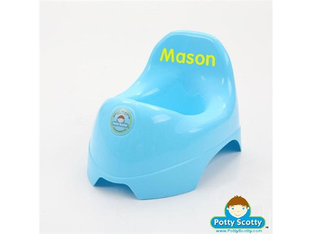 Blue Potty Chair for Boys