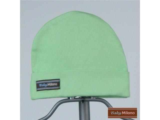 Baby Milano Lime Green Baby Hat