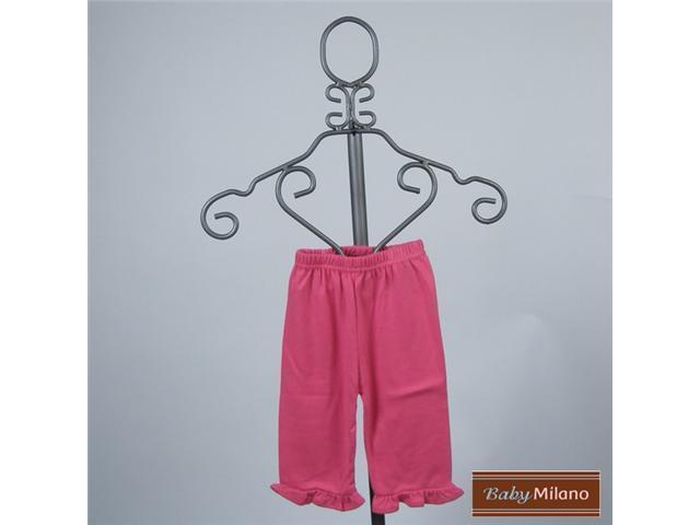 Baby Milano Hot Pink Frilled Pants