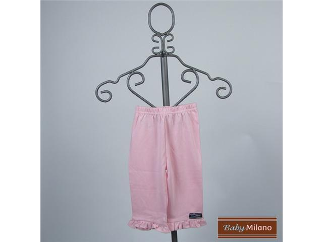 Baby Milano Light Pink Frilled Pants