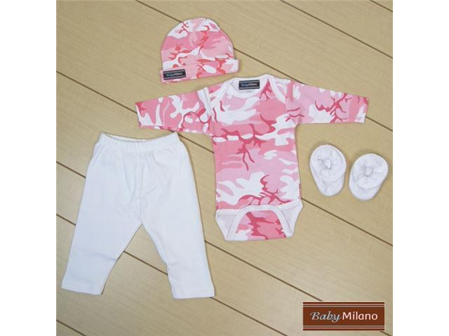 Baby Milano Pink Camo Baby Girl Outfit