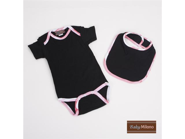 Baby Milano Black and Pink Camo Gift Set