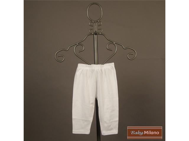 Baby Milano White Baby Leggings