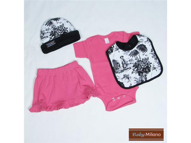 Baby Milano Stylish Toile Baby Clothes Set