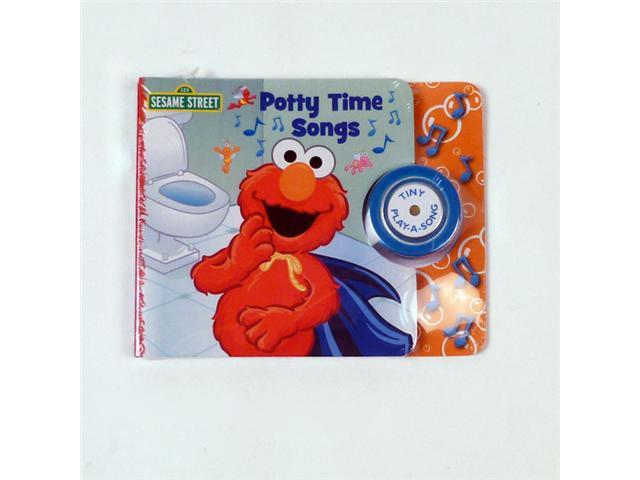 Tiny Potty Time Songs Book with Elmo