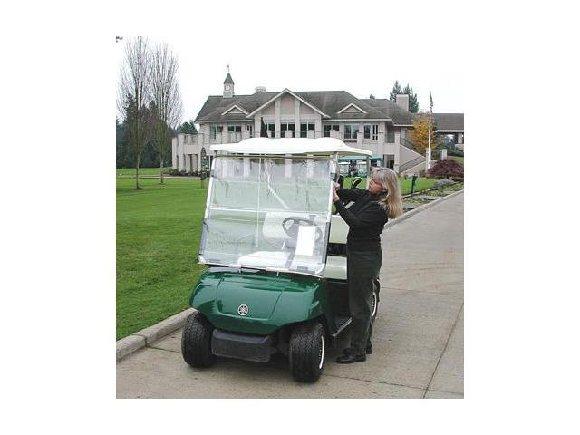 CartShield Golf Cart Windshield Portable Easy Install