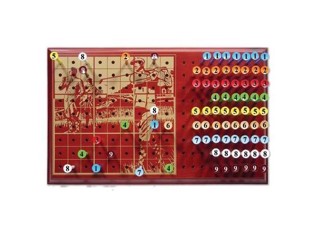 Pardoku Golf Sodoku Popular Game Wood Board Gift Set