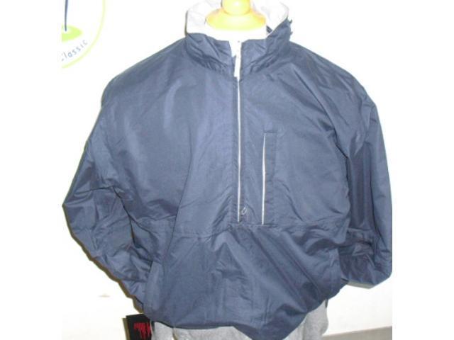 Golf Rain Microfiber Jacket Navy Medium Wear Company