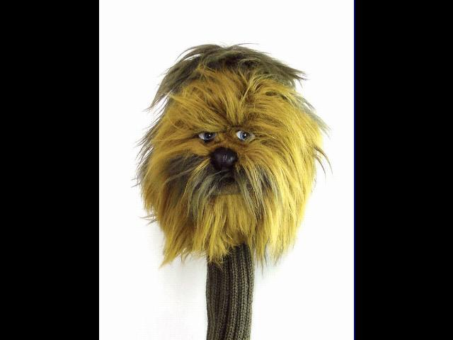 Licensed Chewbacca Star Wars Golf Headcover 460cc NEW