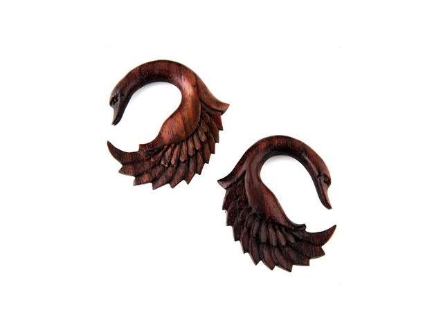 Organic Wood Ear Hook Plug - 00G