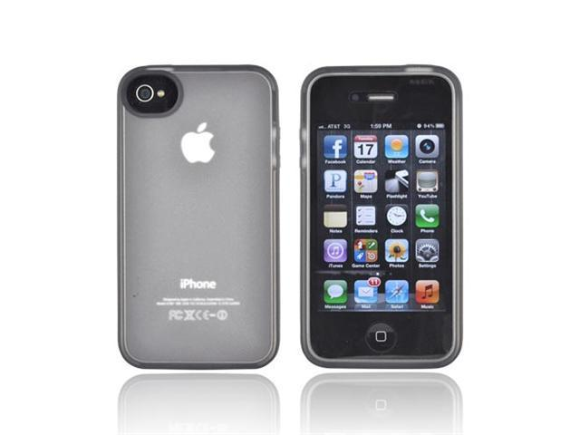 BELKIN Clear / Black Grip Candy Sheer for iPhone 4/4S F8Z813EBC04