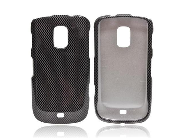 Black/Gray Carbon Fiber Design OEM Multipro Samsung Galaxy S Lightray 4g Plastic Snap On Cover