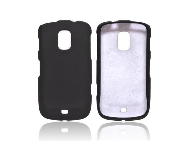 Black OEM Multipro Samsung Galaxy S Lightray 4g Rubberized Plastic Snap On Cover