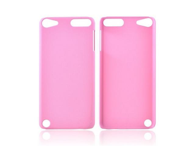 Apple Ipod Touch 5 Rubberized Plastic Cover - Baby Pink