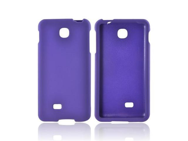LG Escape Rubberized Plastic Cover - Purple