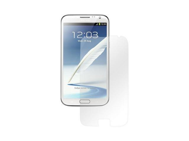 Clear Samsung Galaxy Note 2 Screen Protector Film Guard