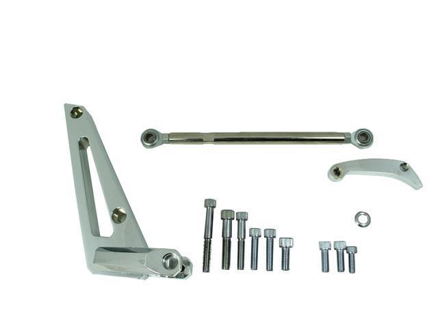 BB Chevy Alternator Bracket SWP Kit