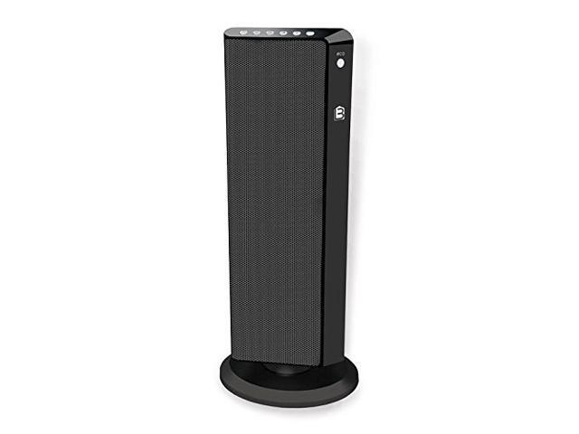 Refurbished Living Basix LB5320 Flat Panel Tower Portable Space Heater Blac