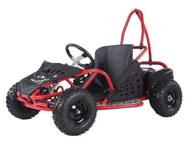 Kryptonite Electric Go-Cart EK80 - Red