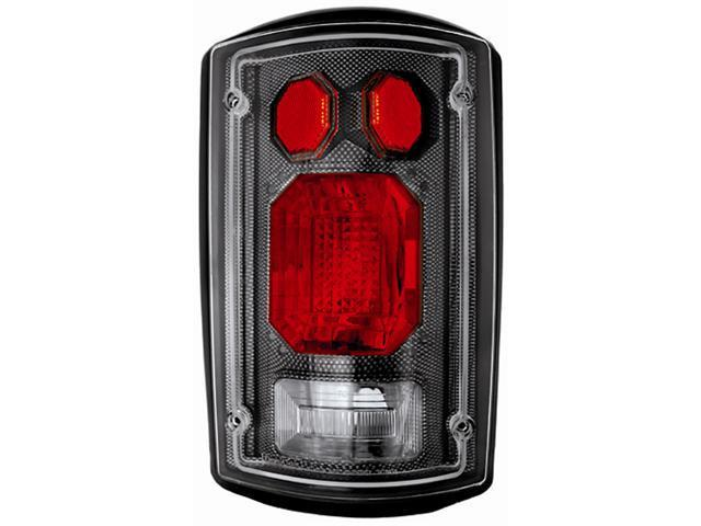 IPCW Tail Lamp CWT-CE502CF 95-11 Ford Econoline 95-11 Ford Excursion Carbon Fiber