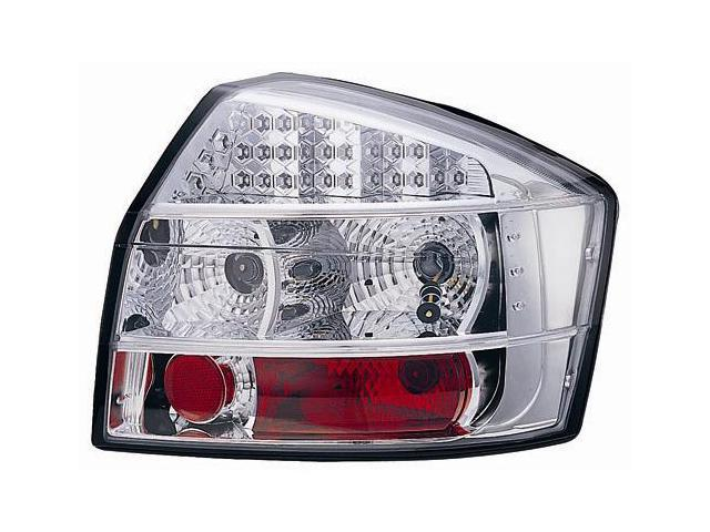 IPCW Tail Lamp LED LEDT-8304C2 03-05 Audi A4 Crystal Clear