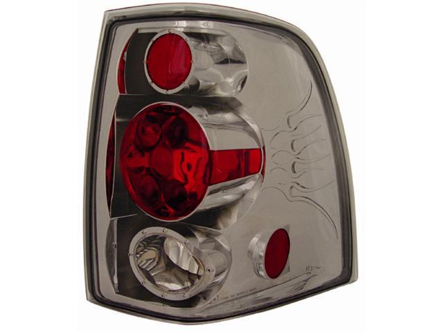 IPCW CWT-CE517CS Ford Expedition 2003 - 2006 Tail Lamps, Crystal Eyes Platinum Smoke
