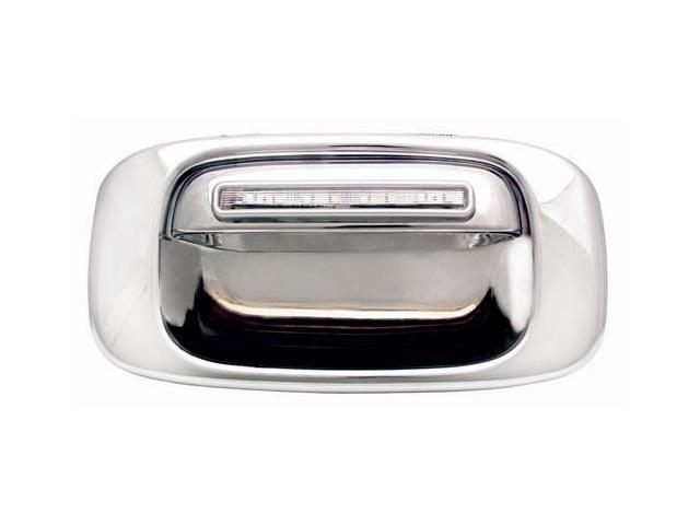 IPCW LED Door Handle CLR99CT 99-06 Cadillac Escalade 99-06 GMC Sierra 99-06 Chevrolet Silverado 99-06 Chevrolet Silverado Classic Red LED / Clear Lens
