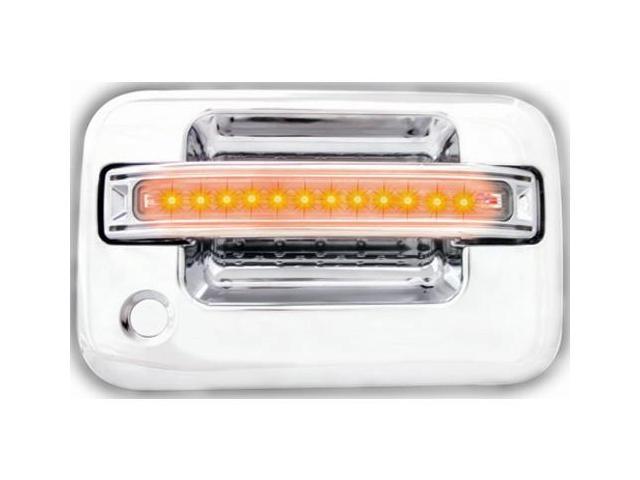 IPCW LED Door Handle FLA04CF 04-08 Ford F150 / F250 LD Amber LED/Clear Lens