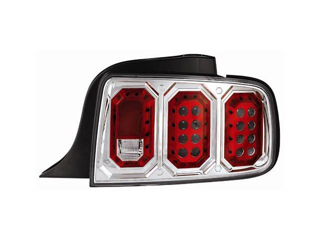 IPCW Tail Lamp LED LEDT-522C 05-08 Ford Mustang Crystal Clear