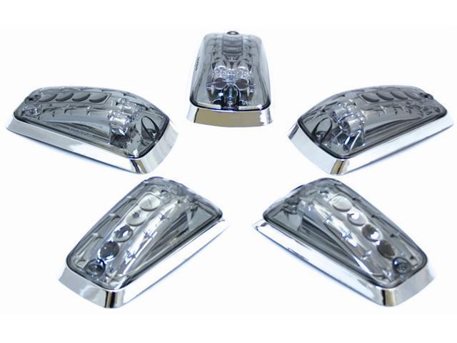 IPCW Cab Roof Light LEDR-303S 88-99 Chevrolet Chevy PU 88-99 GMC GMC Truck Platinum Smoke