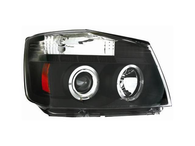 IPCW Projector Headlight CWS-1114B2 04-07 Nissan Armada 04-07 Nissan Titan Black