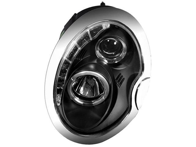 IPCW Projector Headlight CWS-208B2 02-06 Mini Cooper Black