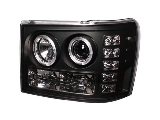 IPCW Projector Headlight CWS-3041B2 07-10 GMC Sierra Black