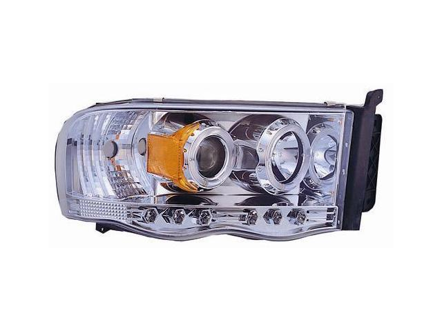 IPCW Projector Headlight CWS-408C2 02-05 Dodge Ram PU Chrome