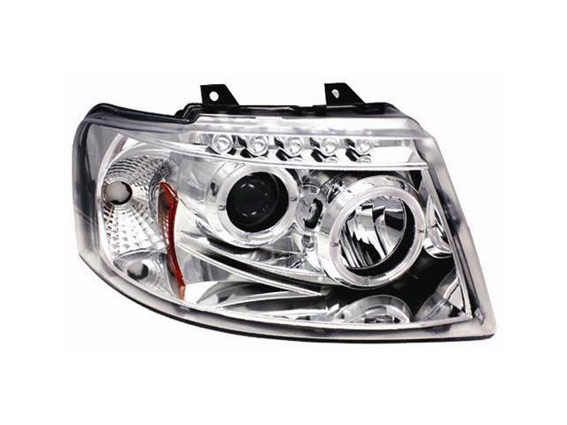 IPCW Projector Headlight CWS-517C2 03-06 Ford Expedition  Chrome