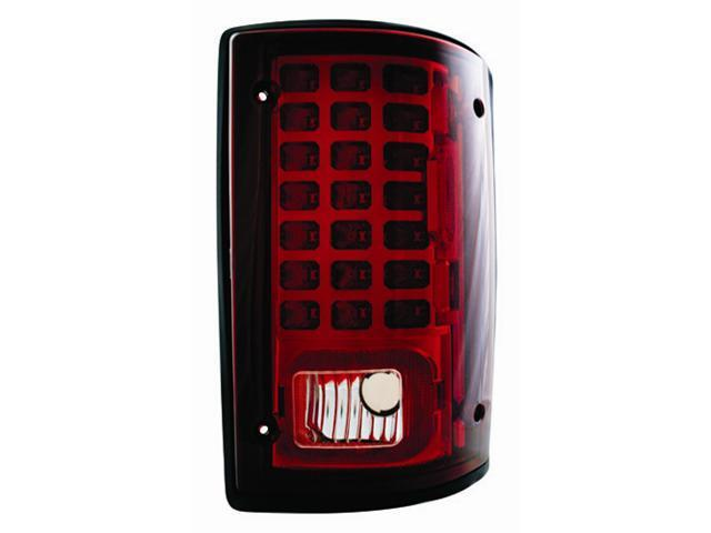 IPCW Tail Lamp LED LEDT-502CR 95-11 Ford Econoline 95-11 Ford Excursion Ruby Red