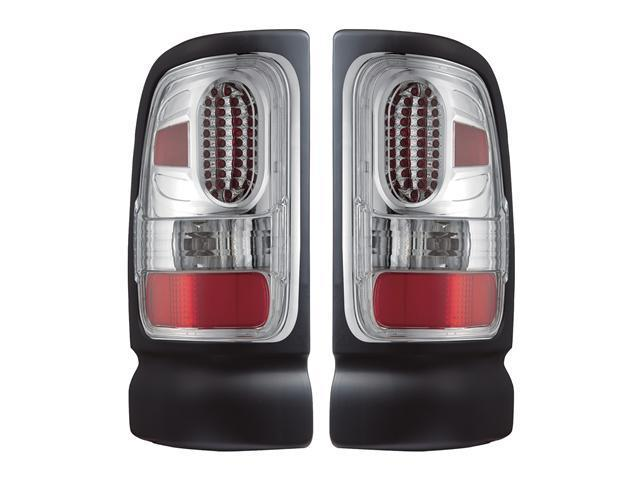 APC Chrome Diamond Cut Tail Lamps,  Dodge Ram / Ram 2500/3500  407536TLC