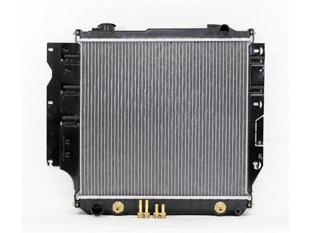 97-03 JEEP WRANGLER AT/MT 4/6CY 2.0/4.0L PAC RADIATOR PLASTIC TANK/ALUMINIUM CORE 1ROW PR2102A