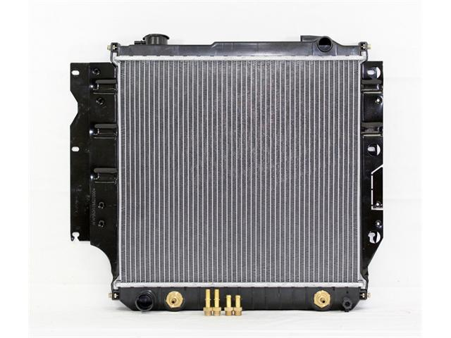 87-95 JEEP WRANGER L6/4.2L L4/2.5L AT/MT PAC RADIATOR PLASTIC TANK/ALUMINIUM CORE 1ROW PR1682A