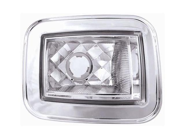 IPCW 03-08 Hummer H2 05-08 Hummer H2 SUT Park Signals Front Diamond-Cut Crystal Clear CWC-348C
