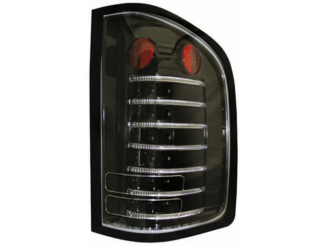 IPCW 10-11 Chevrolet Silverado Tail Lamps Fiber Optic & LED Bermuda Black LEDT-3042CB