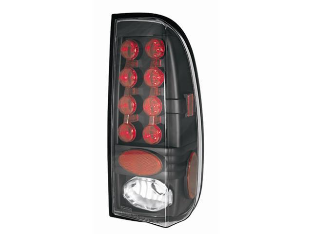 IPCW 97-03 Ford F150 / F250 LD 99-07 Ford Super Duty Tail Lamps LED Styleside Bermuda Black LEDT-501CB