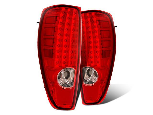 CG CHEVY COLORADO 04 UP L.E.D TAILLIGHT. RED/CLEAR 03-CCL04TLED PAIR