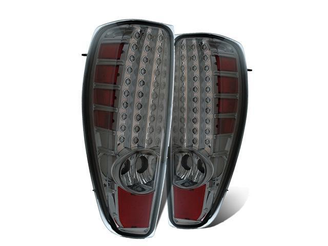 CG CHEVY COLORADO 04 UP L.E.D TAILLIGHT. RED/SMOKE 03-CCL04TLEDSM PAIR