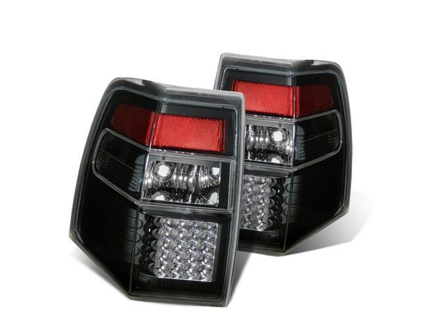 CG FORD EXPEDITION 07-UP L.E.D TAILLIGHT BLACK 03-FE07TLEDJM PAIR