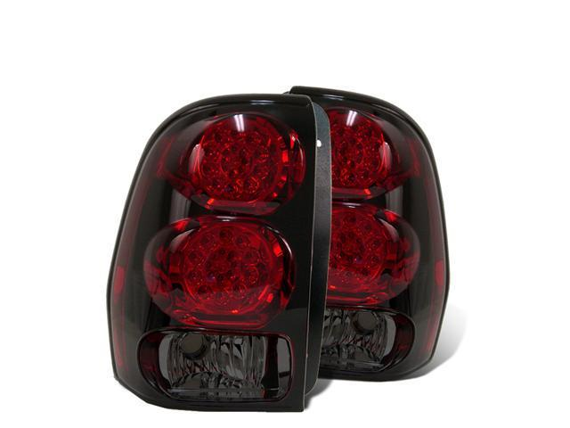 CG CHEVY TRAILBLAZER 02-07 L.E.D TAILLIGHT RED/SMOKE 03-CT02TLEDRS PAIR
