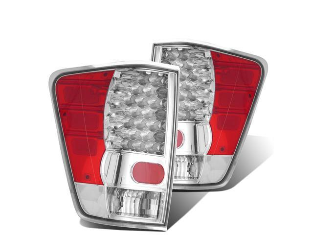 CG NISSAN TITAN 04-09 LED TAILLIGHT CHROME 03-NT2004LEDAC PAIR