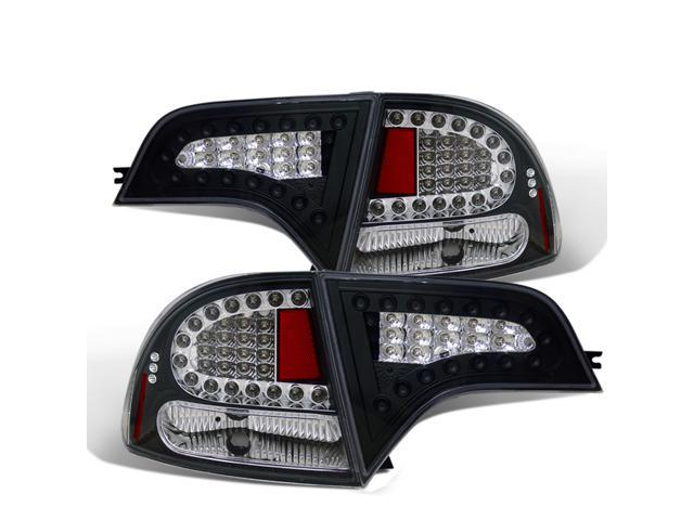 CG HONDA CIVIC 06-08 4 DR 4 PCS L.E.D TAILLIGHT BLACK 03-HC06TLED4DJM PAIR