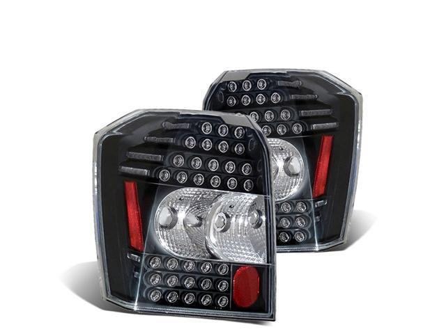 CG DODGE CALIBER 07 UP L.E.D TAILLIGHT BLACK 03-DCB07TLEDJM PAIR